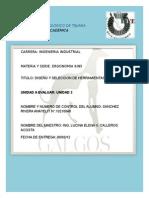 2.3 Diseño y Seleccion de Herraminetas.