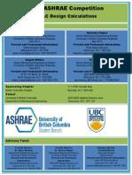 UBC ASHRAE Competition Report