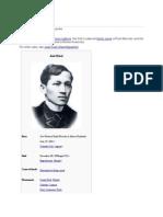 José Rizal and His World