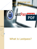 Tutorial for Lastpass