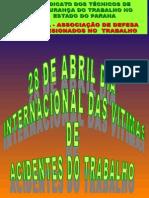 Dia 28 de Abril Dia Das Vitimas