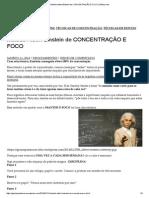 Método Albert Einstein de CONCENTRAÇÃO E FOCO _ Gênios.pdf