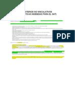 Criterios Sindicatos Julio 2014