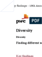 PwC 2015 CEO Interview (Diversity)