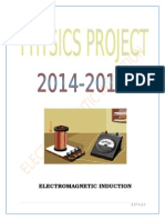 electromagneticinduction-140117054957-phpapp01