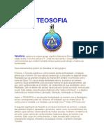 Teosofia - Definicao e Introducao A