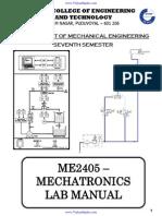 ME2405 Mechatronics Lab