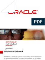 Oracle Sales Cloud Overview 1