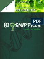 Biosnippets - December 2014