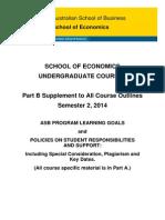 Economics Course Outline UG S22014 PartB
