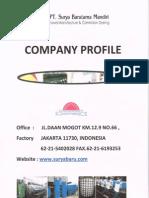 Company Profile Surya Baru