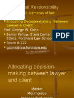 Ch.2.Allocating Decision-Making Between Cawyer and Client