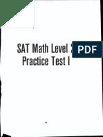 Sparks Math Level 2 Test 1