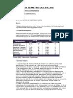 Plan de Marketing Caja Ahorro y Credito