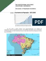 Material Apostilado - A População Brasileira - 6 Série
