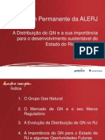 A Distribuição do GN e a sua importância para o desenvolvimento sustentável do Estado do Rio de Janeiro