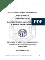 Electronic Circuits_Lab Manual