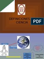 Definciones de Ciencia