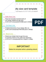 specialty card sizing template