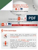 Les Français et la cuisine