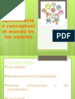 Aproximación Conceptual a Los Valores