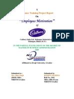 Employees Motivation on Cadbury