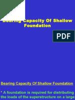 Bearing Capacity Ofsoil