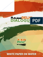 Jal Swaraj-White Paper by AAP