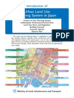 Urban Land Use System in Japan