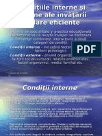 3c  Conditiile interne si externe ale +«nvatarii scolare eficiente.ppt