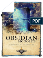 The Obsidian Monolith 40K Missions