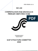 Compensation for Openings in Ship Structures