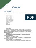 Albert Camus-Cei Drepti