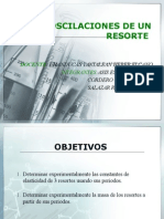 OSCILACION DE RESORTES