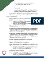2015 Reglamento de Salto