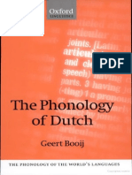 83 the Phonology of Dutch