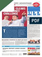 Asbury Park Press front page, Saturday, January 31, 2015