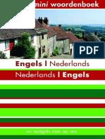 34 Kosmos Mini Woordenboek Nederlands-Engels