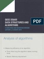 2 Basic Analysis, Searching