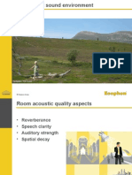 Room Acoustic Comfort™ ASM architects long