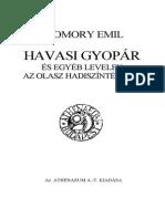 Szomory Emil Havasi Gyopar