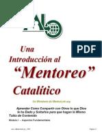 Una Introducción Al Mentoreo Catalítico