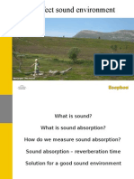 Sound Absorption 2006-01-26 (Eng) R1