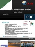 UGF7945 Calero Ncalero SQL Plan Baselines Oow2014