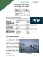 Diario de Operaciones Web 29 Enero 2015
