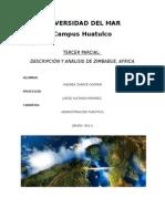 Descripción y Análisis de Zimbabwe, África.
