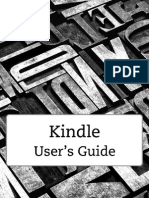 Kindle Touch User Guide