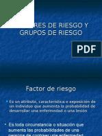 Factores de Riesgo y Grupos de Riesgo