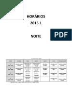 HORARIO 2015.1 PSI FALS