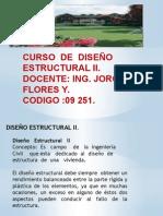 Curso Diseño Estructural II
